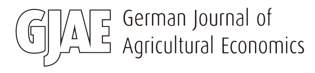 The German Journal of Agricultural Economics (GJAE) is the leading publication in the German language area for articles in the field of agricultural economics and related disciplines.